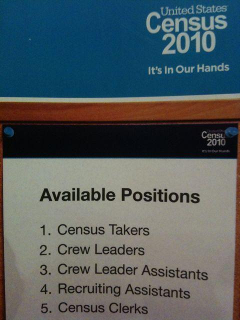 Census bureau jobs census for Census bureau title 13